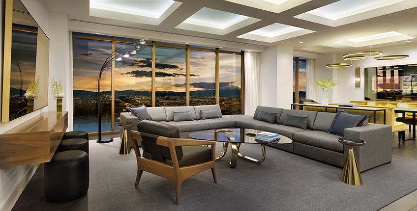 Delano Las Vegas Penthouse Suite at Eventinterface