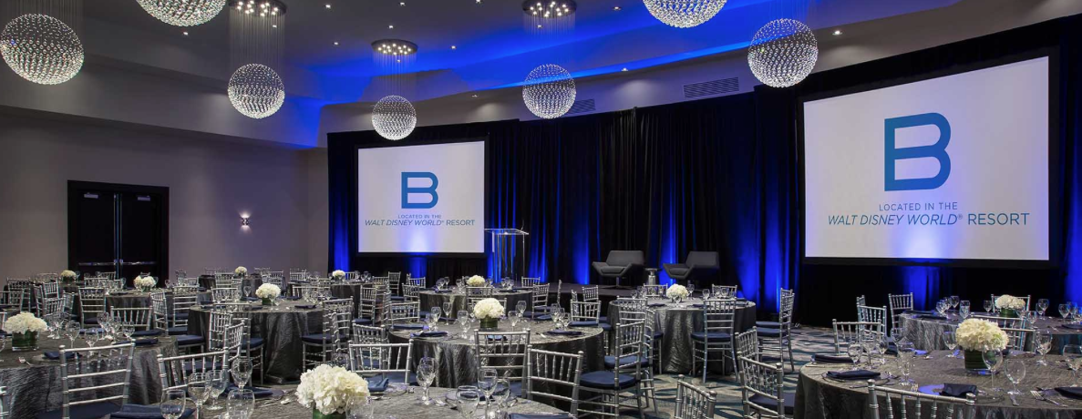 B Resort & Spa Orlando meeting space at Eventinterface