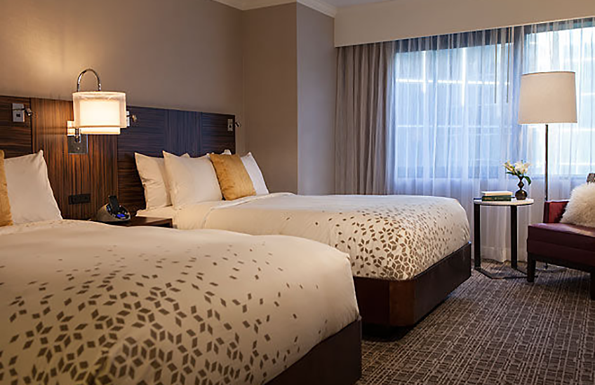 Renaissance Washington, DC Downtown Hotel Updated guest room at Eventinterface
