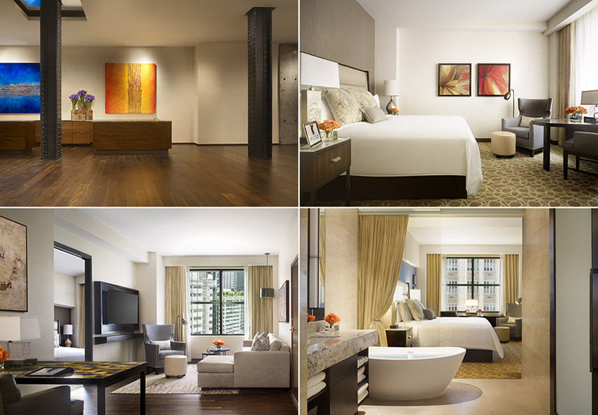 JW Marriott Houston Downtown Reception and Guest Rooms at Eventinterface Blog