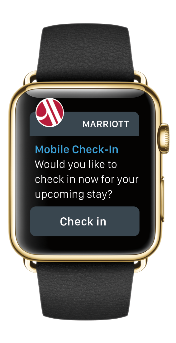 Apple Watch and Marriott International at Eventinterface