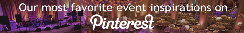 Event Inspirations for Eventinterface on Pinterest