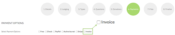 Eventinterface now offering attendee invoicing