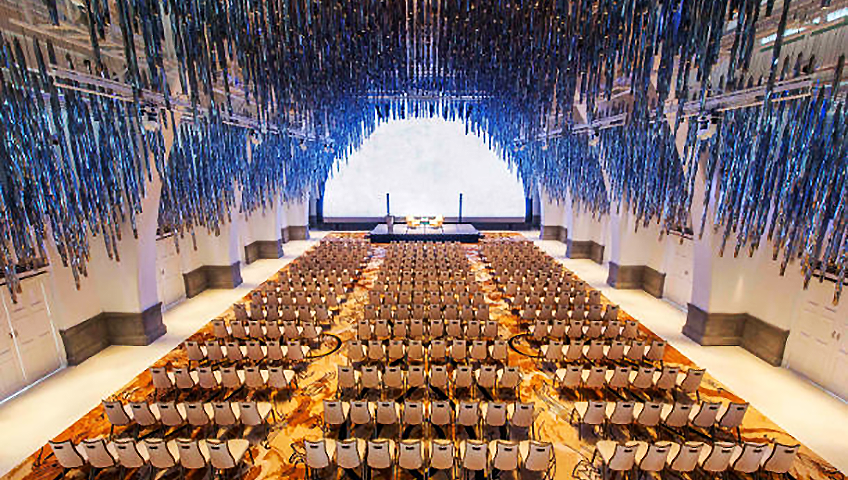 JW Marriott Hotel Singapore South Beach Grand Ballroom at Eventinterface destinations and venues