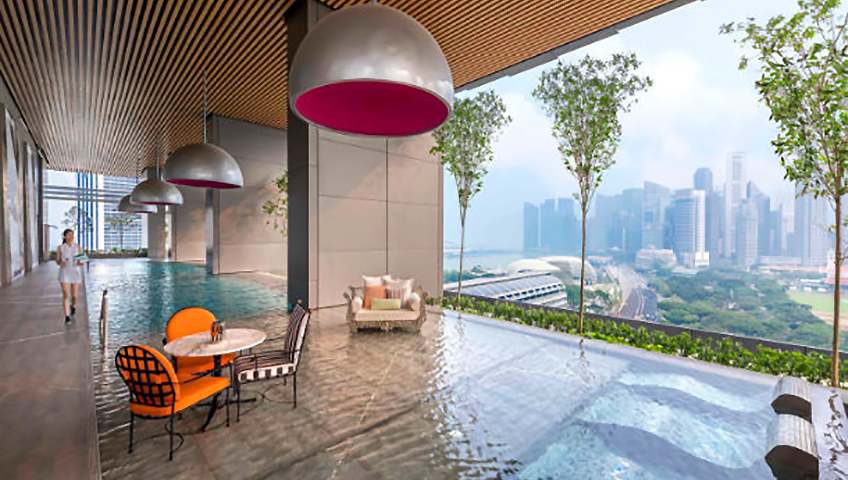 JW Marriott Hotel Singapore South Beach Flow 18 Sky Garden at Eventinterface destinations and venues