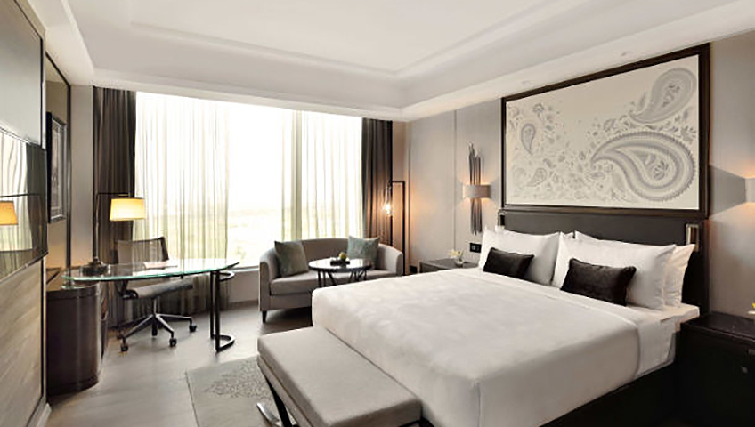 JW Marriott Hotel Kolkata Deluxe Guest Room on Eventinterface destinations and venues