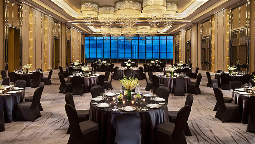 JW Marriott Hotel Chengdu Grand Ballroom on Eventinterface Destinations and Services