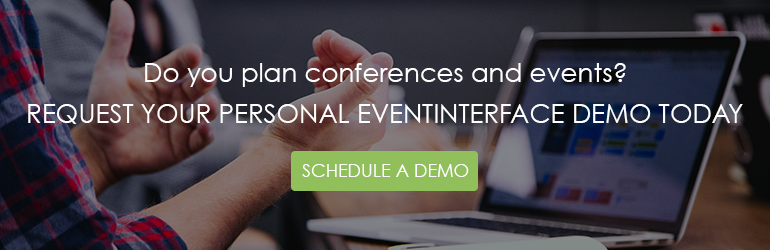 Sign up for your free Eventinterface demo