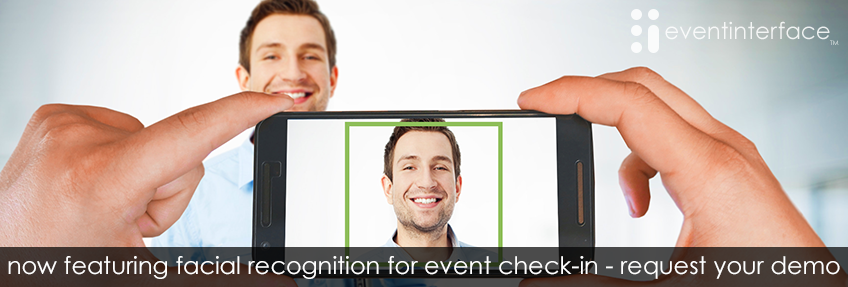 Facial recognition check-in for events