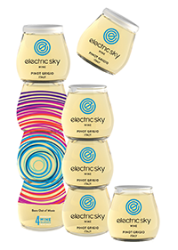 Electric Sky Wine Pinot Grigio Wine for Events at Eventinterface News