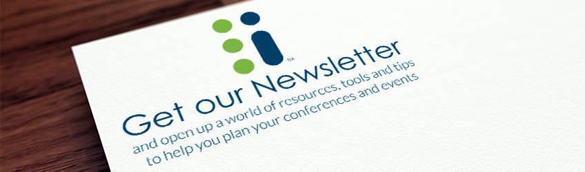 Newsletter for meeting and event planners